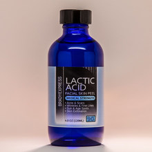 NEW 4 oz LACTIC Acid Skin Peel 90% For Acne, Scars, Wrinkles, Melasma, Age Spots FREE SHIPPING(China)