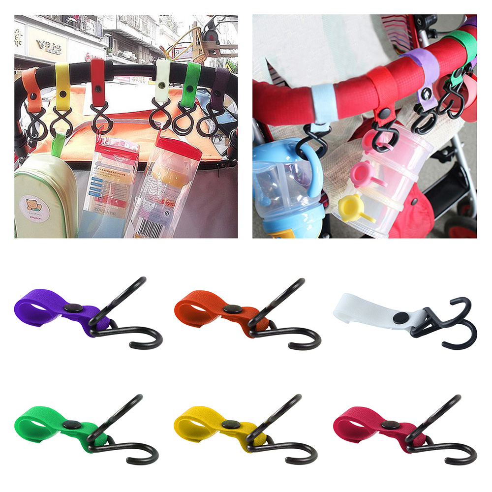 1PC 0-24 Months Baby Simple Colorful Rattles Hook Toys 97003-97008