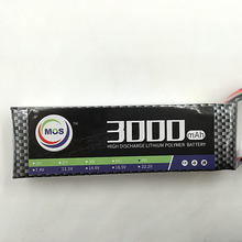 MOS 3S lipo battery 11 1v 3000mAh 35C For rc airplane free shipping