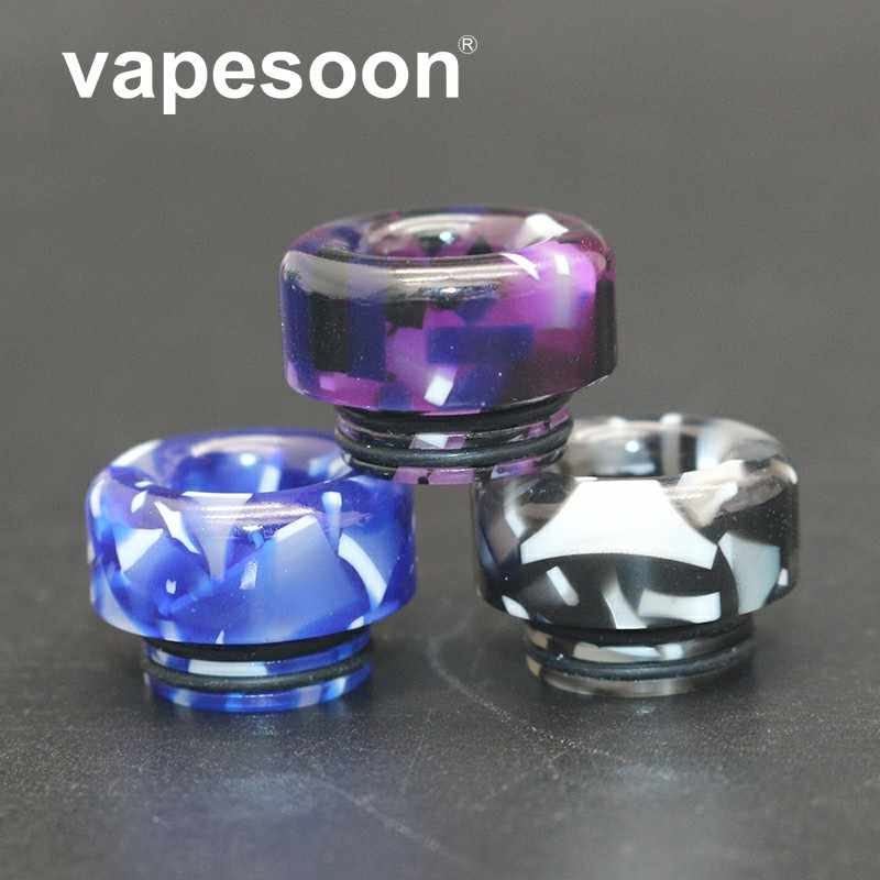 1pcs VapeSoon 810 Acrylic Drip Tip For TFV8 BIG BABY TFV12 Prince Resa Prince MANTA RTA Reload Kylin MINI DJV IJUST 3 etc