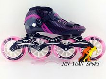 High quality! Patines Profession Inline Skates Roller Skates Shoes Speed Skating Shoes Roller Skates 4 wheels Roller Patins