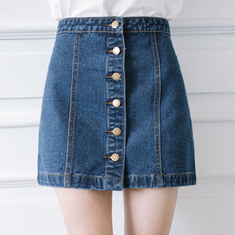 Popular Denim Mini Skirts-Buy Cheap Denim Mini Skirts lots from ...