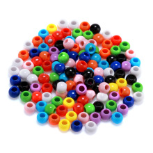 Loose Doreen Beads 2500PCs Mixed Round Acrylic Spacer  8mm DIY selling