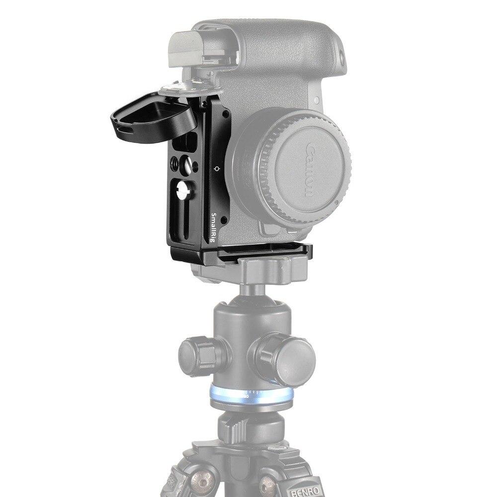 Petite plaque de support L pour Canon EOS R plaque latérale + plaque de base fixation rapide Dslr caméra plaque de montage L plaque Kit-2257 - 6