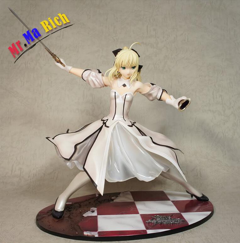 23cm Sexy Fate/stay Night  Action Figures Pvc Brinquedos Collection Figures Toys For Christmas Gift Free Shipping 12pcs set children kids toys gift mini figures toys little pet animal cat dog lps action figures