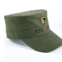Military Shield Outdoor Clothing Accessories Lang Army Green Eagle Cap Hat Cap Peaked Cotton Flat Cap