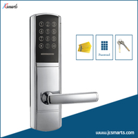 Electronic Keypad Front Door Lock Digital Combination Lock With Hidden M1 Card Reader