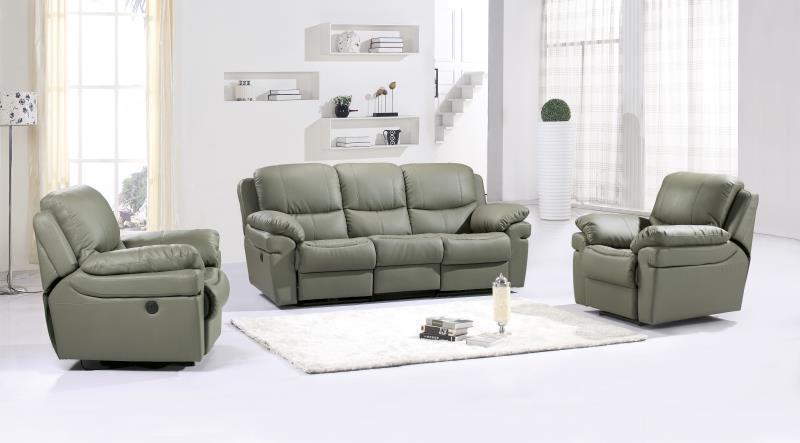 JIXINGE Ultra Strong, Recliner Sofa, Genuine Leather Recliner Sofa, - Կահույք - Լուսանկար 2