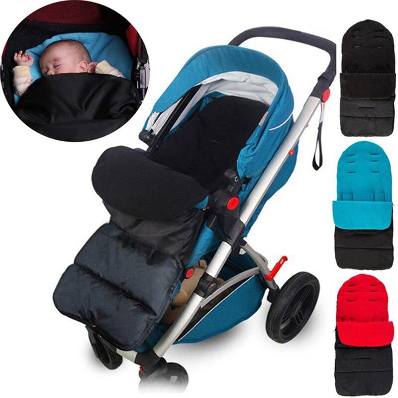 Baby Stroller Sleeping Bag Newborn Warm Foot Cover Sleeping Pad Quilt Plus Baby Stroller Accessories Infant Warm Sleeping Bag