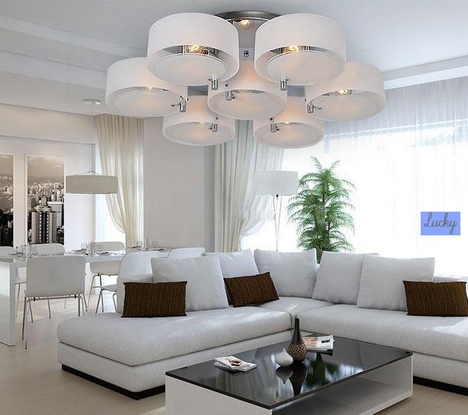 Mode Acryl led deckenleuchte moderne kurze wohnzimmer licht ...