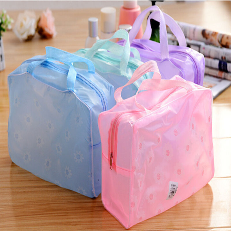 Portable Makeup Cosmetic Toiletry Travel Wash Toothbrush Pouch Organizer Bag intimate Accessory Household