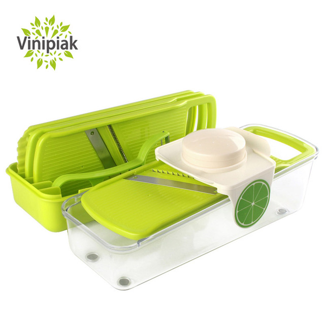 Adjustable Kitchen Manual Vegetable Fruit Slicer Onion Potato Carrot
