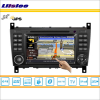 Liislee Car GPS Navi Map Navigation For Mercedes Benz SLK W171 2004~2011 Radio Stereo DVD iPod HD Screen S160 Multimedia System