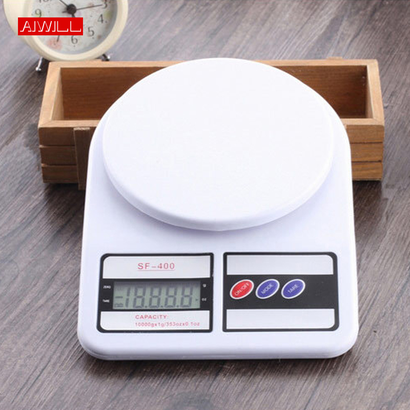 Aiwill Sf400 High-precision Kitchen Electronic Scale Kitchen Scales Household Food Electronic Scales Baking Medicine Scales 10kg Kitchen Scales