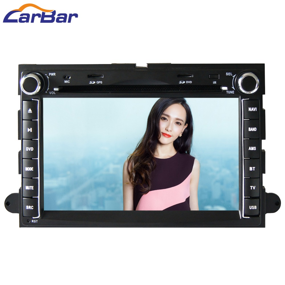 7 HD 1024*600 Quad Core Android 6.0 Car DVD GPS for Ford Explorer Fusion 500 F150 F250 F350 Edge Expedition Mustang 2006 2011