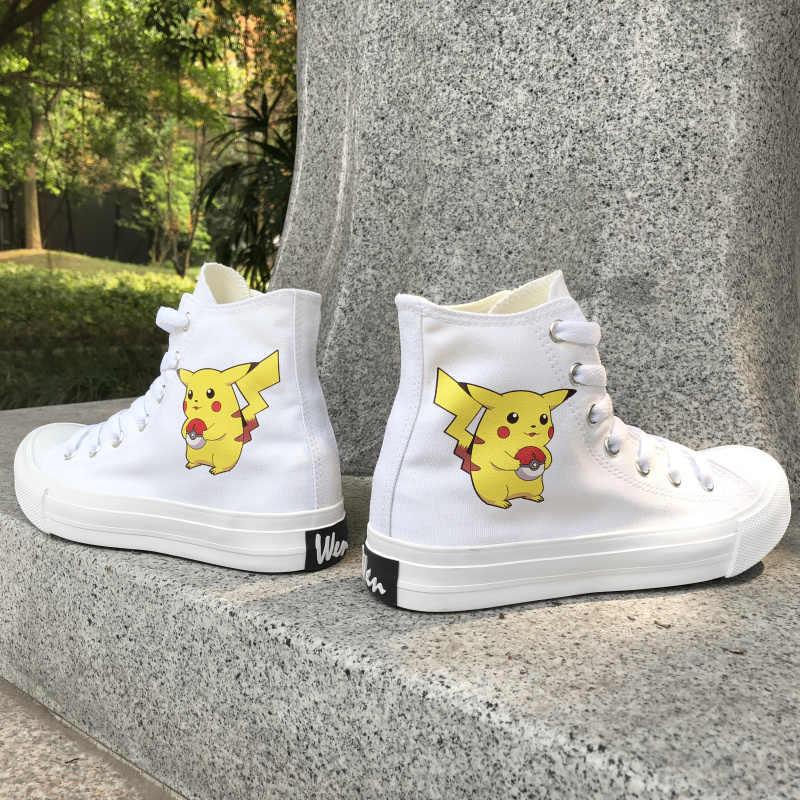 Unisex PikachuPokemon bab soft sole