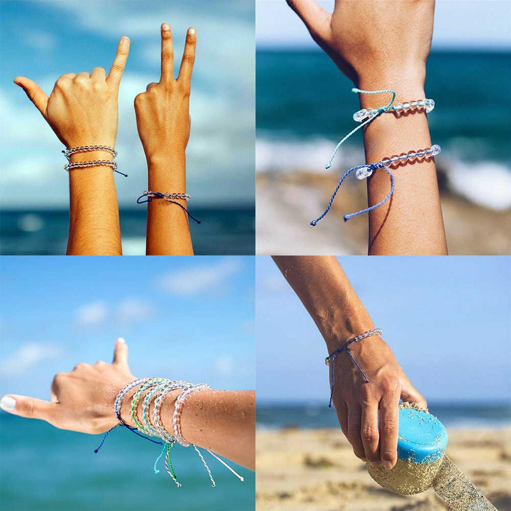 2019 горячая распродажа женский мужской браслет с океаническим камнем в богемном стиле плетеный браслет оптовая продажа Прямая поставка