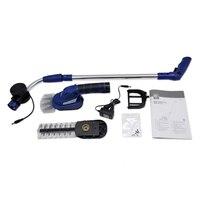 East power Tools 3,6 В 2.5Ah 3в1 литий ионный беспроводной хедж триммер для травы мини газонокосилка Обрезка ET1601 с ручкой и колесом