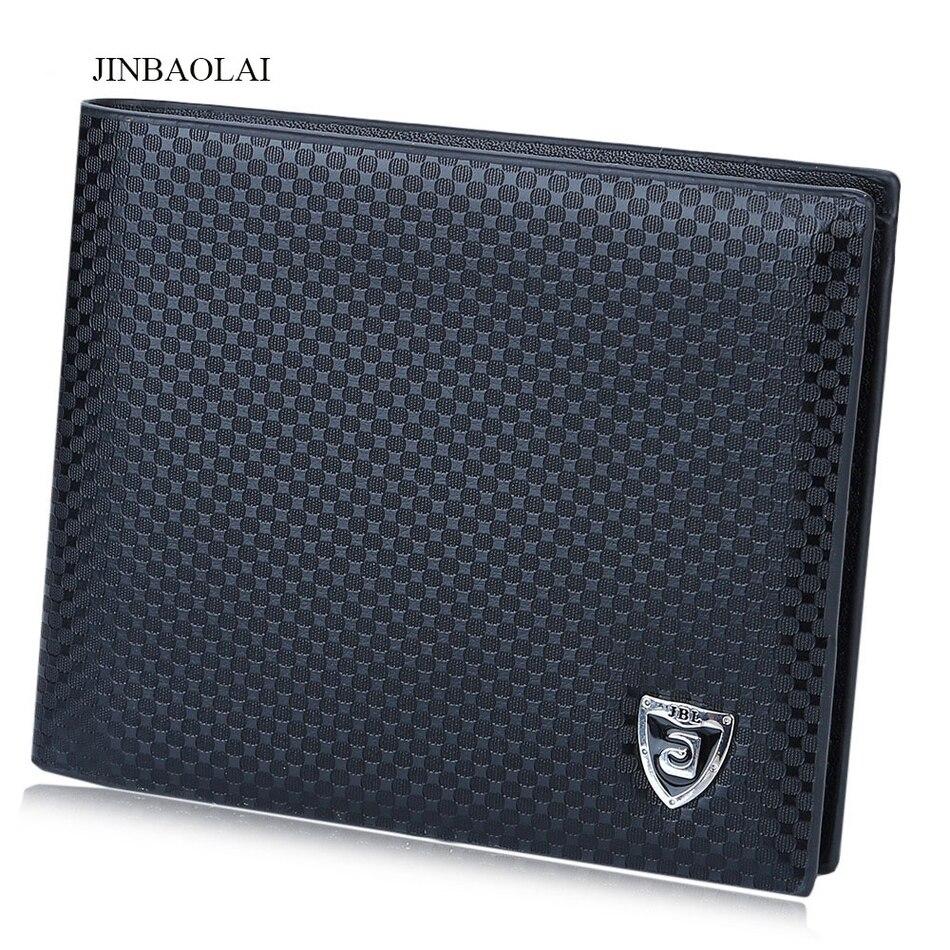 1 PC New Men Soft Leather Wallet Bifold Credit Card Holder Brand Purse Money Wallets Case Man Luxury Purse Wallet Money Bags