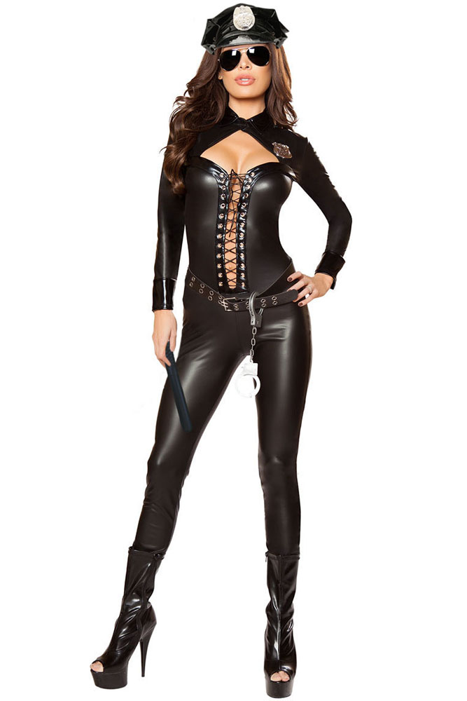 fgirl halloween costumes for women sexy adult new year costume 6pcs frisky officer costume fg21740 in sexy costumes from novelty special use on