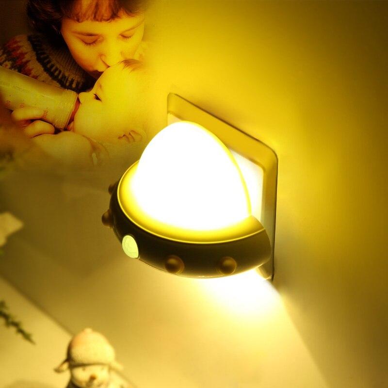 casa plug tipo led night light cronometragem 01