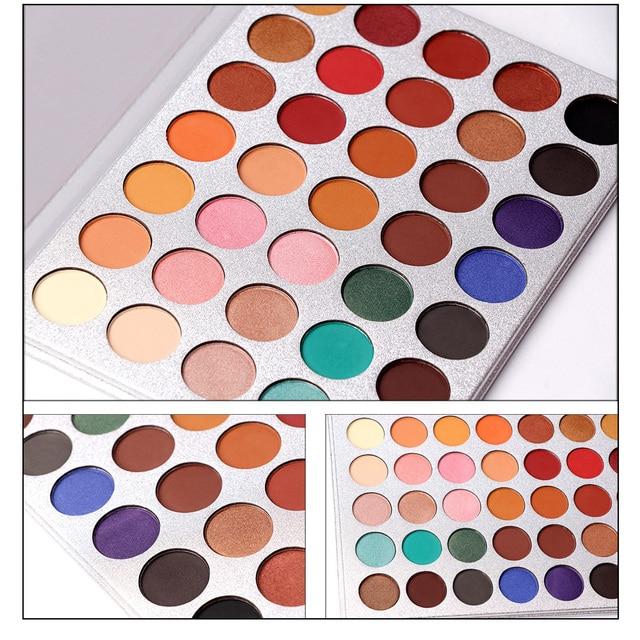 Beauty Glazed 35Color eyeshadow pallete Glitter Makeup Matte Eye shadow Long-lasting make up palette maquillage paleta de sombra 3
