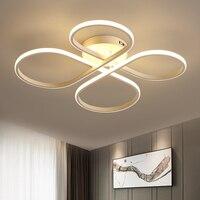 Minimalism Modern Led Chandelier Light For Living Room Bedroom Kids Room Surface Mounted Led Home Indoor
