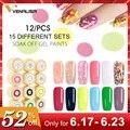 2019 Venalisa nail art tips design professional nail cosmetic manicure 60 colors uv led soak off paint nail polish lacquer gels