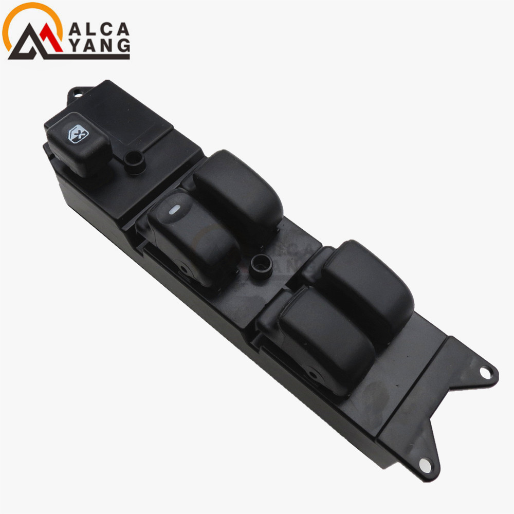 Malcayang Front Door Power Window Driver Side Switch For Mitsubishi Triton L200 K62T K74T LHD MR732119