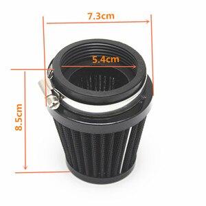 Image 5 - 1 Pcs Cone motorcycle Air Filter Clamp Cleaner 52/53/54mm Carburetor Internal Diameter For Motorcycle ATV Dirt Bike Etc