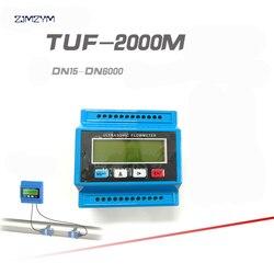 TUF 2000 przepływomierz wody z TL 1 przetworniki DN300 ~ DN6000mm moduł ultradźwiękowy przepływomierz interfejs komunikacyjny RS232 12 V/24 V w Przepływomierze od Narzędzia na