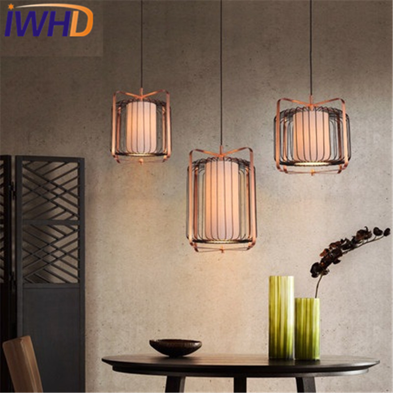 IWHD Simple Wood Cloth Droplight Modern LED Pendant Light Fixtures For Living Dining Room Iron Hanging Lamp Indoor Lighting loft style iron vintage pendant light fixtures edison industrial lamp dining room bar diy hanging droplight indoor lighting