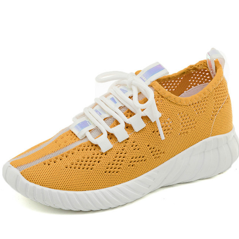 Summer Shoes Breathable Women Sneakers Vulcanized Shoes Ladies Shoe Women's Female Thick-Soled Outdoor Walking Sneakers N3-37