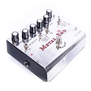 Image 3 - Biyang Tonefancier Metal End King Distortion Electric Guitar Effect Pedal True Bypass Design with Gold Pedal Connector