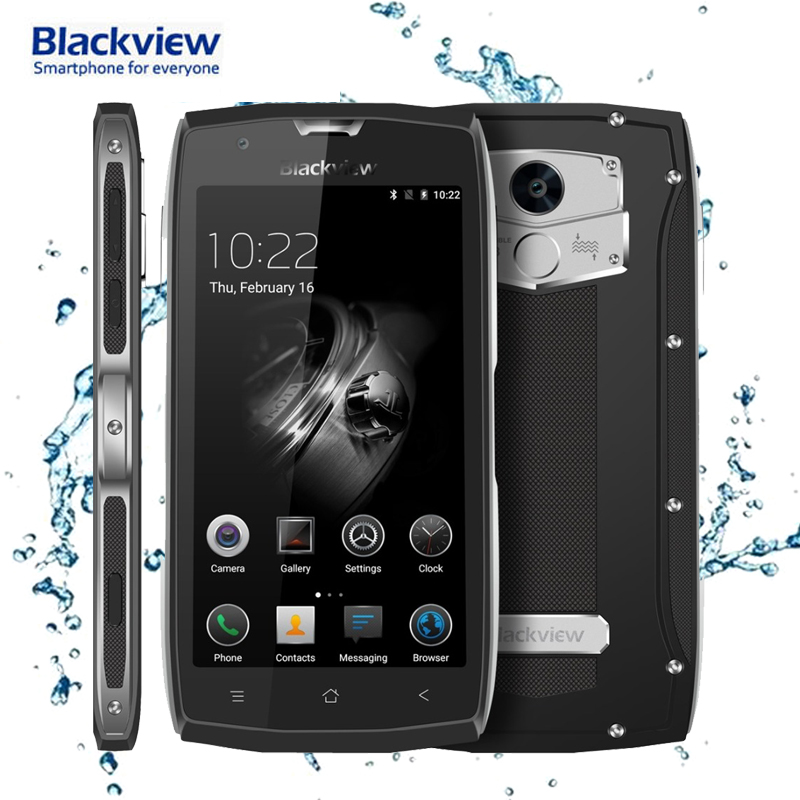 Blackview BV7000 4G LTE IP68 Waterproof Smartphone MTK6737T Quad Core 1 5GHz 8MP Camera 2GB RAM