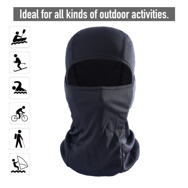 Outdoor Cycling Balaclava Full Face Mask Bicycle Ski Bike Ride Snowboard Sport Headgear Helmet Liner Tactical Paintball Hat Cap 1