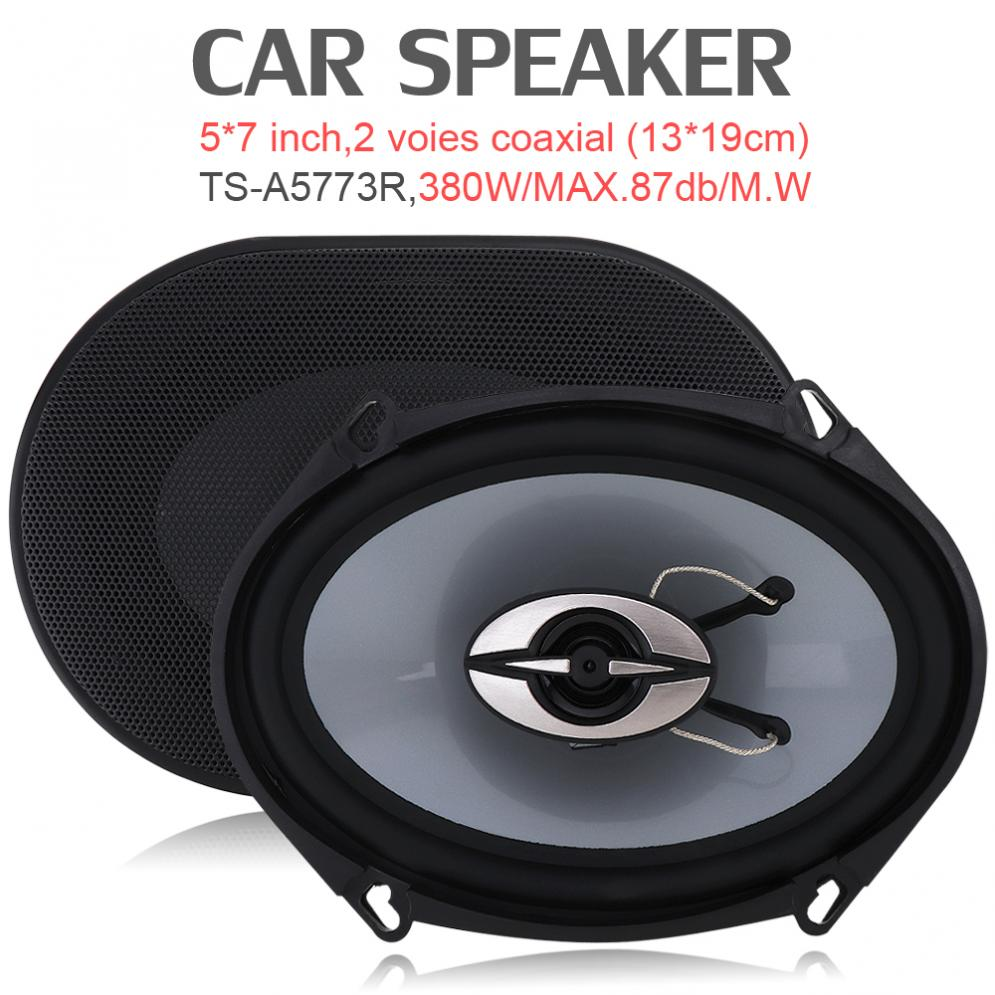 380W Car HiFi Coaxial Speaker Vehicle Door Auto sound motorcycle Audio Music Stereo Full Range Frequency