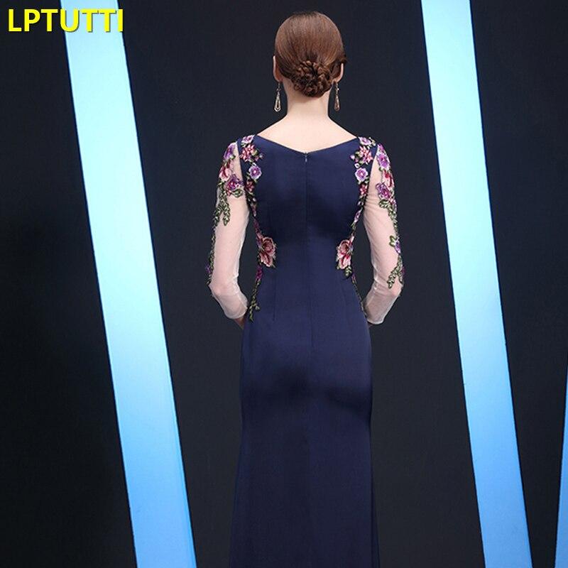 LPTUTTI broderie maman gratuite nouveau pour les femmes élégant Date cérémonie fête robe de bal formelle Gala luxe longues robes de soirée - 5