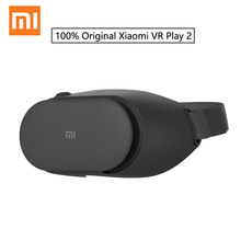 100% Original Xiaomi MI VR Play 2 Virtual Reality 3D Glasses Immersive For 4.7-5.7 inch 1080P Smart Phones For Samsung Huawei(China)