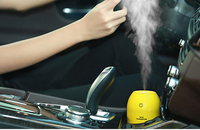 Car Air Freshener Car Humidifiers180ML Lemon Ultrasonic USB Portable DC With LED Light Office Home Air