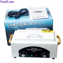 Nail Salon Sterilizer with Hot Air – Disinfection Cabinet For Hairdressing, Tattoo, Manicure Tool in Beauty Spa