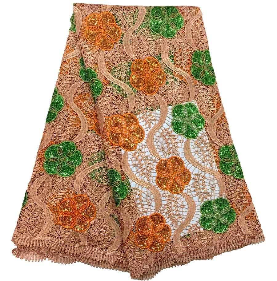 Tela africana del cordón de la alta calidad al por mayor para la - Artes, artesanía y costura