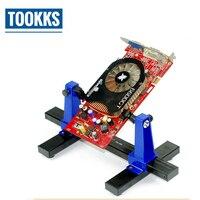 SN 390 ajustável suporte da placa de circuito impresso braçadeira fixação gabarito quadro ferramenta pcb solda e montagem suporte rotação 360 graus|Conjuntos ferramenta manual| |  -