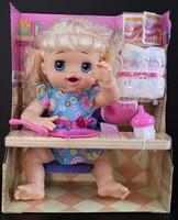 [New] 40cm Feed Newborn baby doll Can Really Eat food Drink milk and Pee Poop talking speak 30+ Phrases Reborn Baby Dolls gift