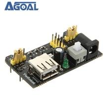 10 шт./лот MB102 макет модуль адаптера щит силового модуля 3,3 V/5V набор «сделай сам» для MB 102 Бесплатная доставка