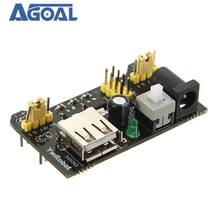 10Pcs/lot MB102 Breadboard Module Adapter Shield Power Module 3.3V/5V For DIY MB 102 Free Shipping