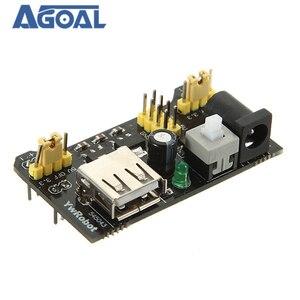 Image 1 - 10Pcs/lot MB102 Breadboard Module Adapter Shield Power Module 3.3V/5V For DIY MB 102 Free Shipping