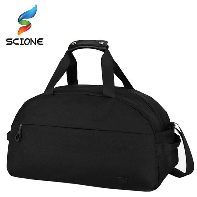Large Capacity Gym Bag Uni Luggage Traveling Handbags Clothes Storage Waterproof Outdoor Sport Shoulder Bags Tote