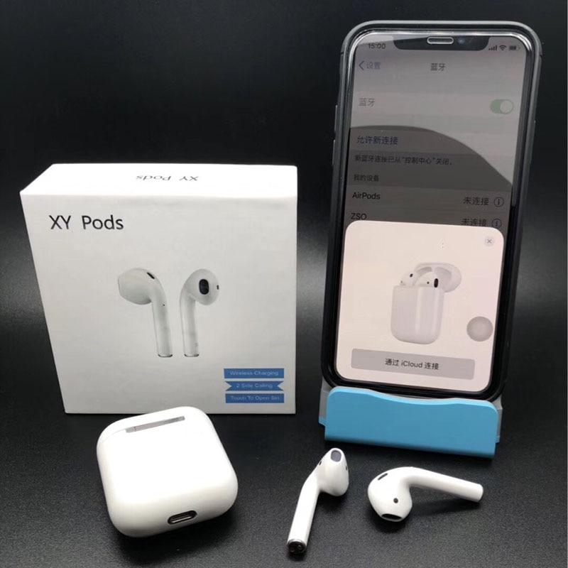 XY Gousses Air Gousses écouteurs bluetooth Pop-up Windows Auto Pairing casque audio sans fil Touch Control Intra-auriculaires Casque PK i10 i12 TWS