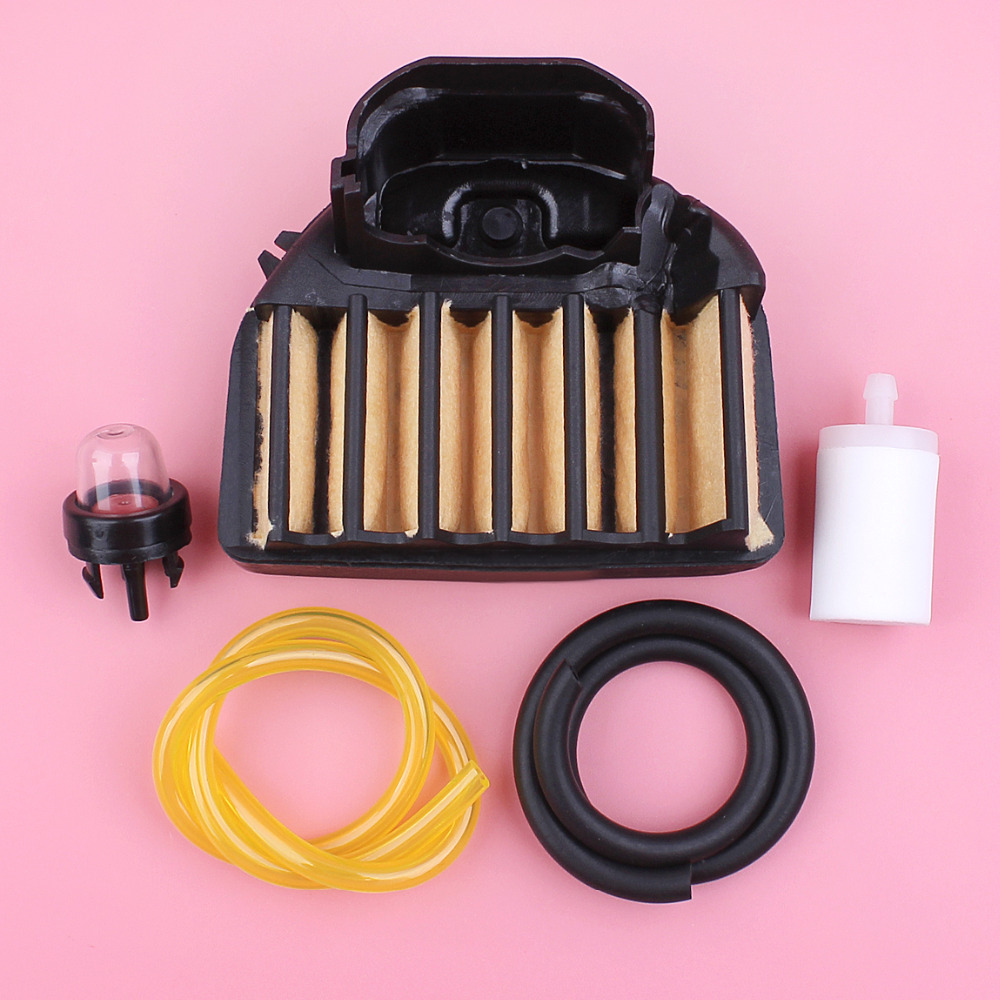 Air Filter For Husqvarna 455 460 Rancher 455 460 455E Chainsaw Spare Part Fuel Filter Line Hose Primer Bulb Kit
